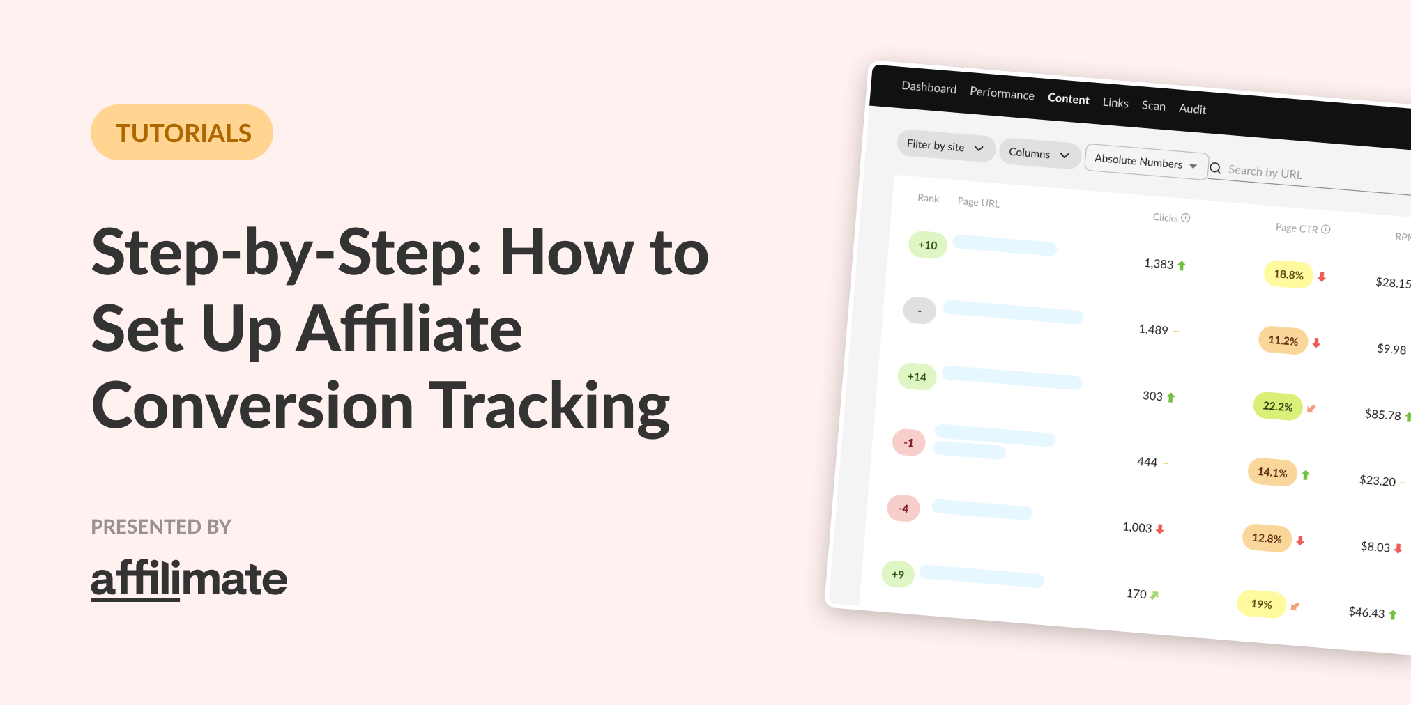 Step-by-Step: How to Set Up Affiliate Conversion Tracking, Fast
