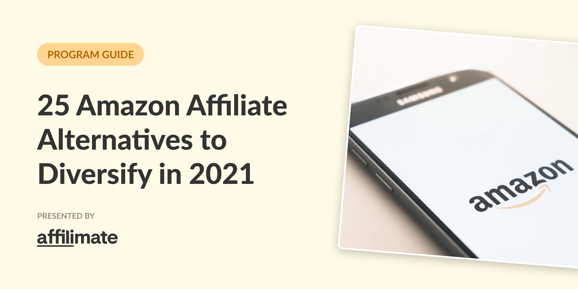 25 Amazon Affiliate Program Alternatives to Diversify Your Affiliate Income in 2021