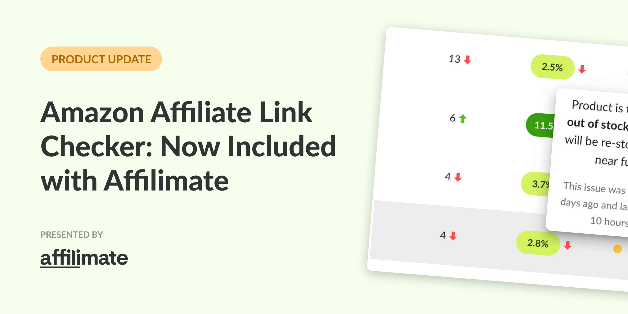 Amazon Affiliate Link Checker: Now Included with Affilimate