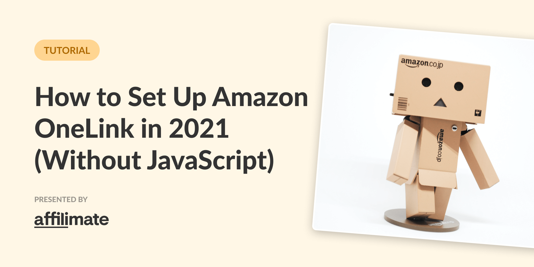 Amazon One Link: How to set up Universal Amazon Links in 2021 (No JavaScript!)