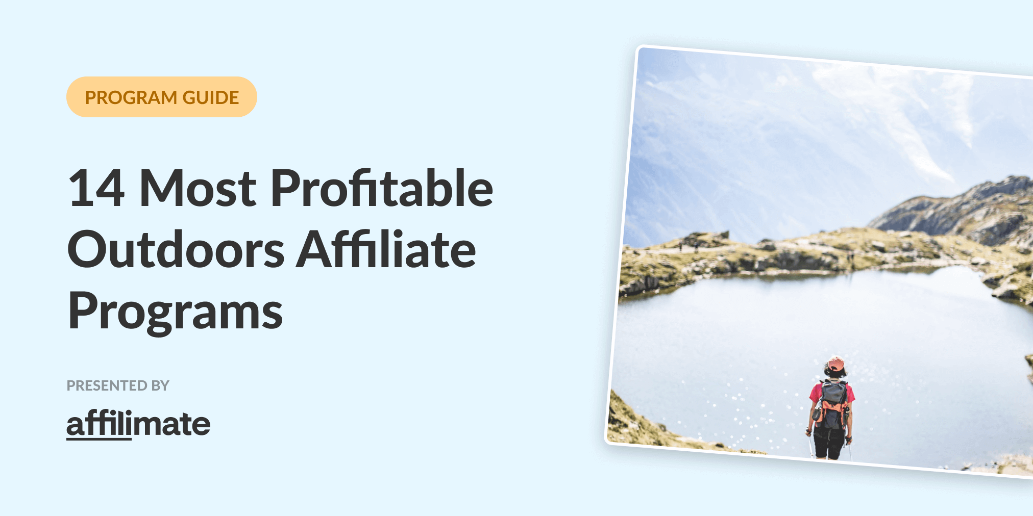 14 Best Outdoor Affiliate Programs in 2021 (Based on Data)