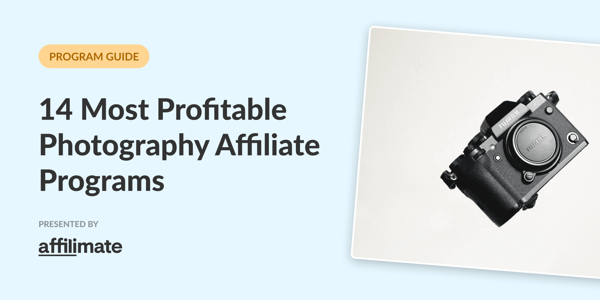 14 Best Photography Affiliate Programs in 2021 (Based on Data)