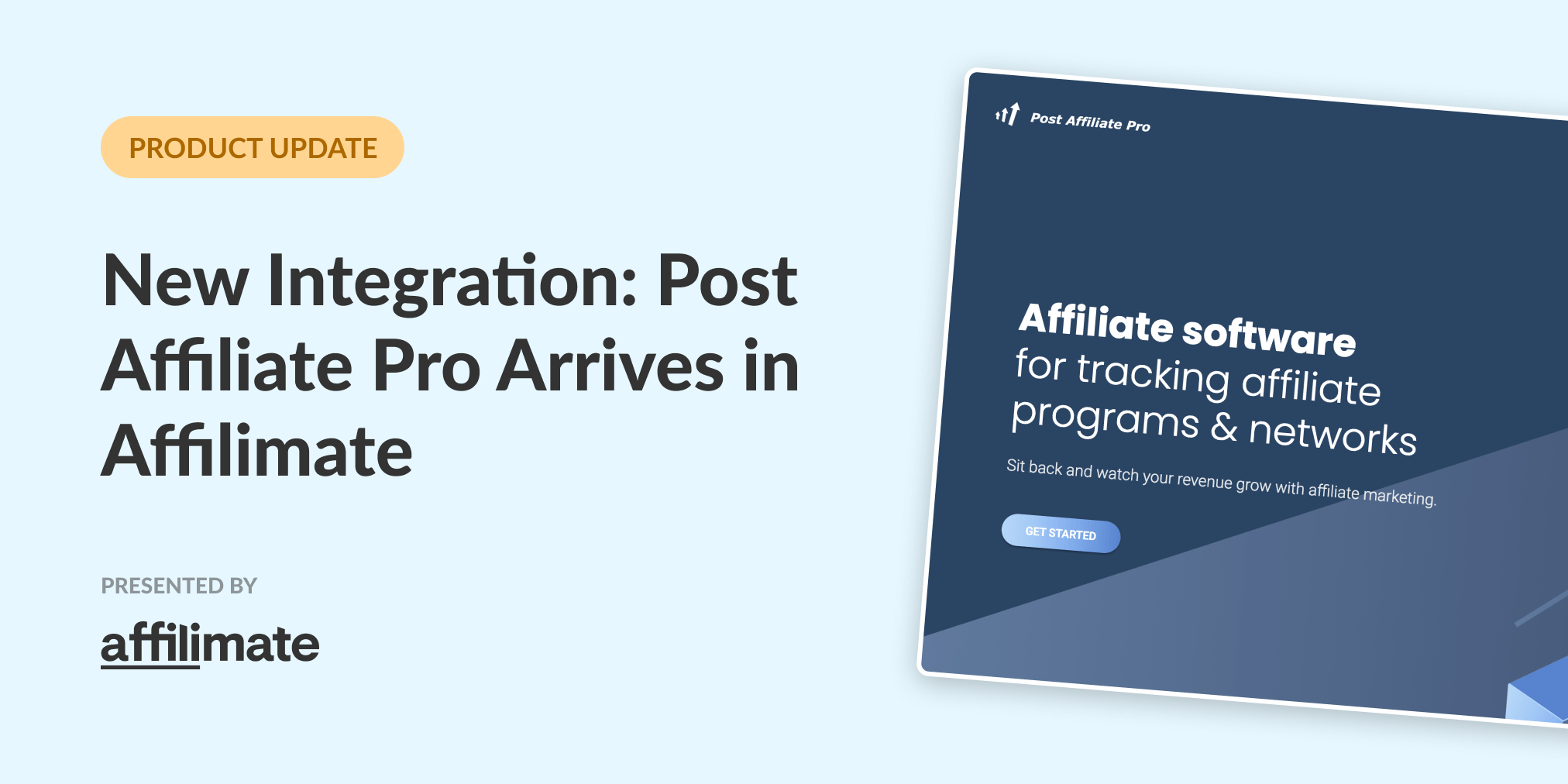 New Integration: Post Affiliate Pro Arrives in Affilimate
