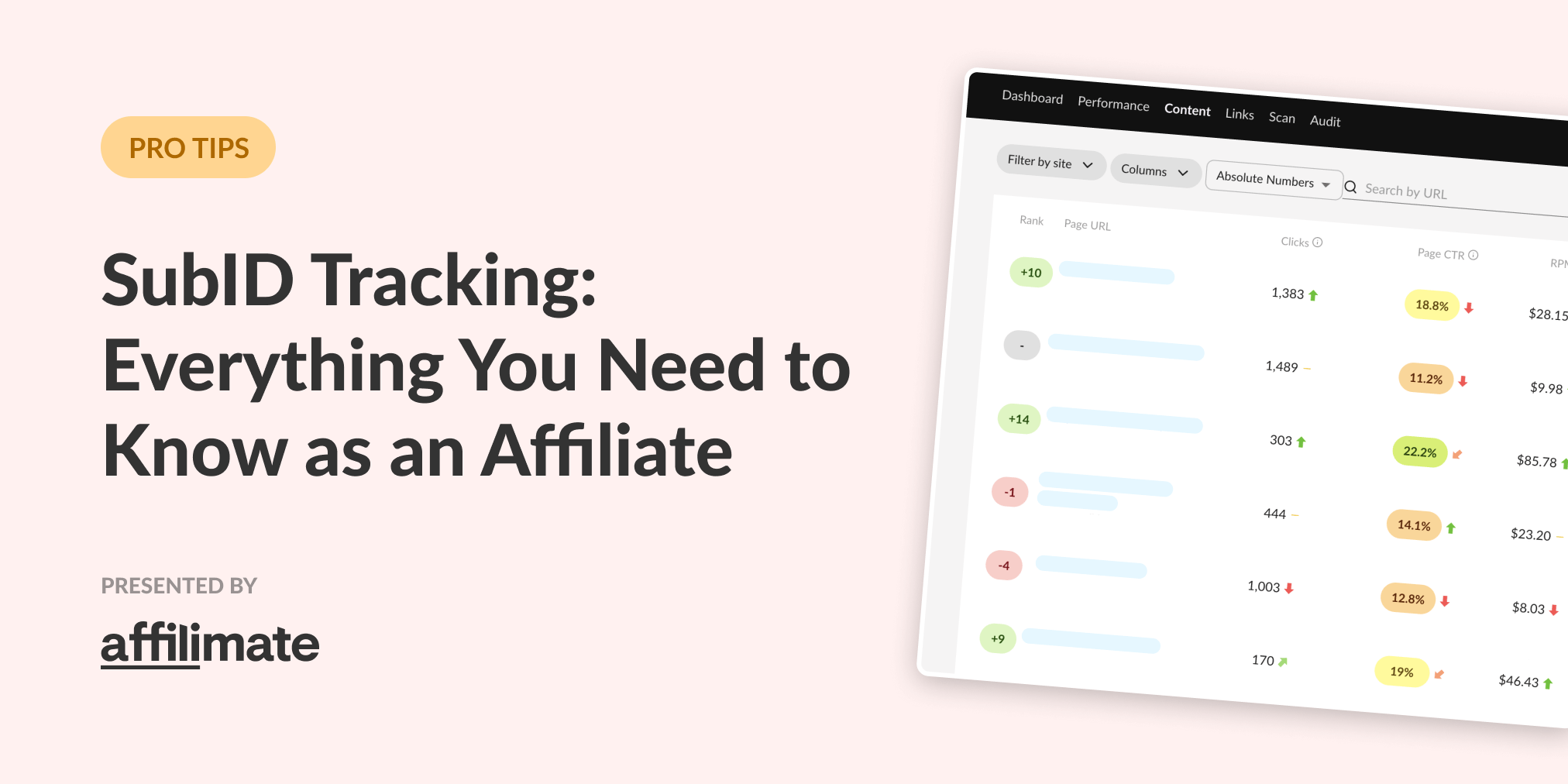 SubID Tracking for Affiliates: Everything You Need to Know